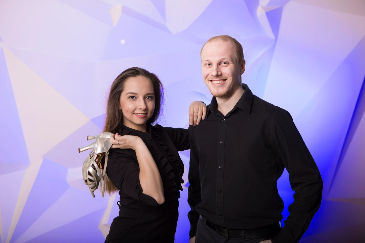 Хореографы Юлия и Дмитрий