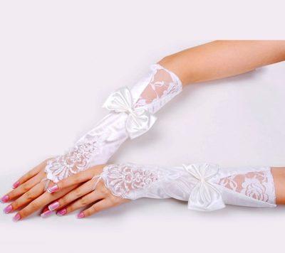 Как выбрать свадебные перчатки