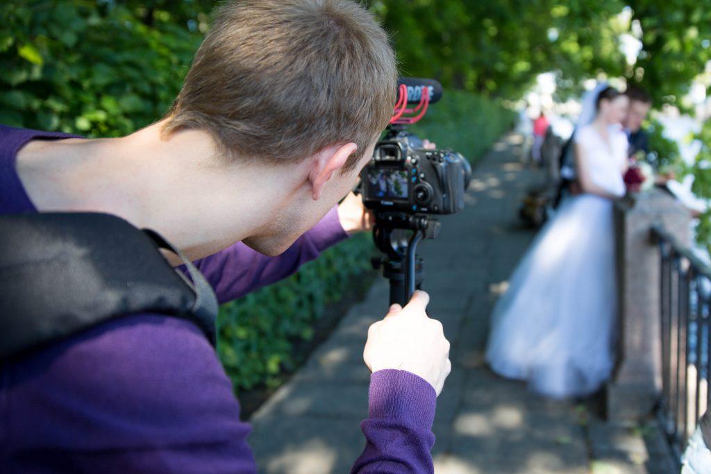 Видеооператоры на свадьбу в Санкт-Петербурге
