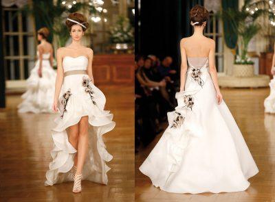 Свадебные платья: цвета и фасоны