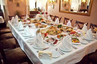 Ресторан на юбилей в Санкт-Петербурге