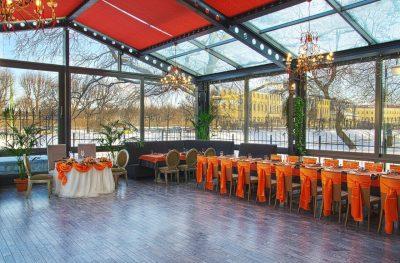 Рестораны на 40 человек в Санкт-Петербурге