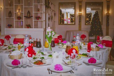 Рестораны на Новый год в Санкт-Петербурге