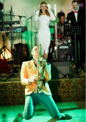 Саксофонисты на свадьбу, праздник в Санкт-Петербурге