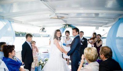 Теплоходы для свадьбы в Санкт-Петербурге