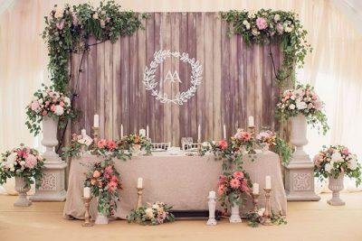 Свадебное оформление: украшение зала и декор свадьбы в Санкт-Петербурге