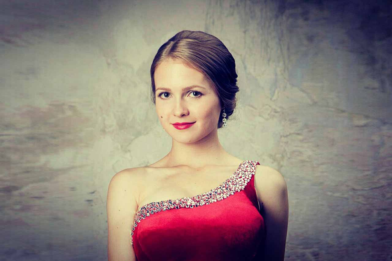 Оперная певица Жанна Чухрай