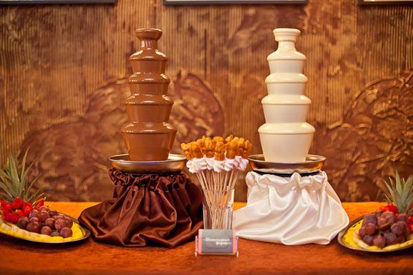 Шоколадный фонтан Константина Фурса