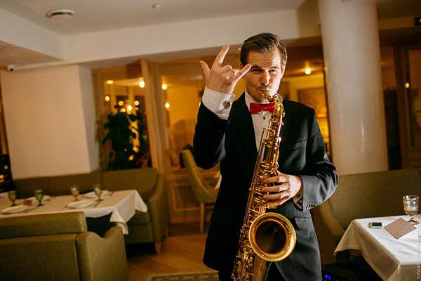 Саксофонист Даниил Левенстам